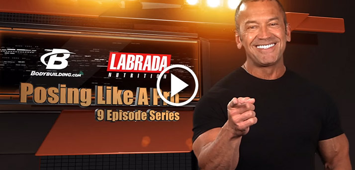 Overview of Lee Labrada's Approach to Posing